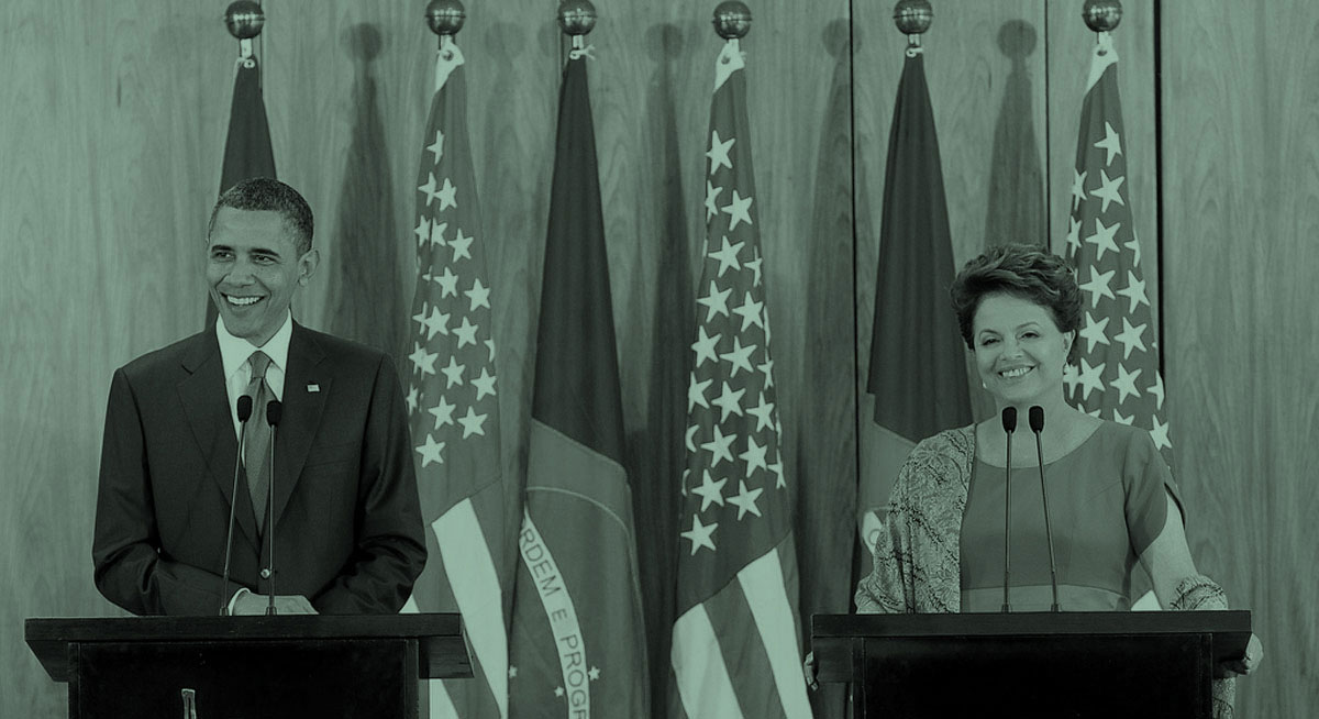 What could the United States do to regain the trust of Brasil?