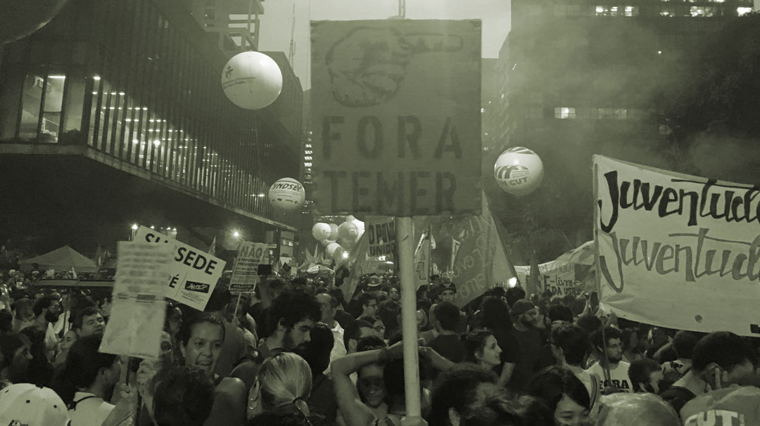 """No return to slavery!"": A million take to the streets against Temer's Neoliberal Reforms"