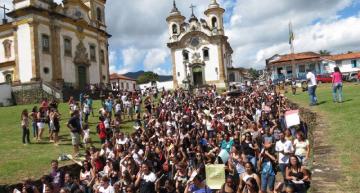 Ouro Preto, Minas Gerais. Photo: Jornalistas Livres.