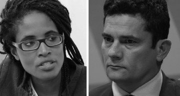 """A Judge should not have a Party"" – Philosopher Djamila Ribeiro confronts Sergio Moro at debate in London"