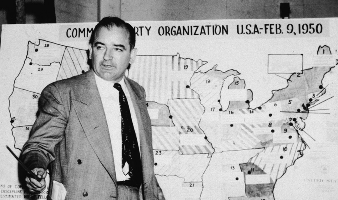 present day mccarthyism Terrorism law, the new mccarthyism madd represents modern-day mccarthyism are there parallels between the crucible and present day.