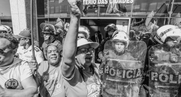 Brasília: Homeless Workers Occupy Federal Cities Ministry