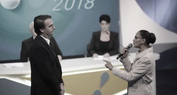 After Marina confrontation, Bolsonaro abandons TV debates
