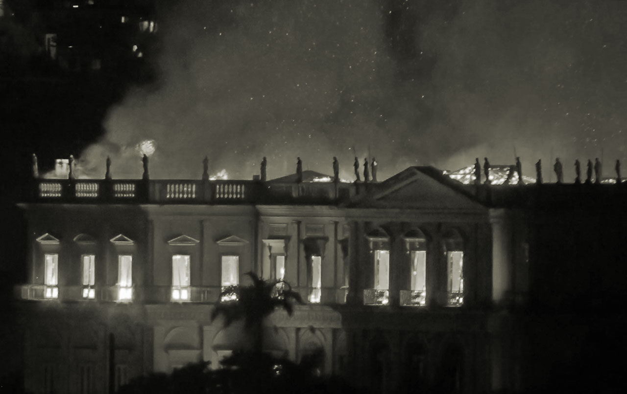 """Fahrenheit 241"": A burning Museum became a ghastly symbol of post-coup Brasil"