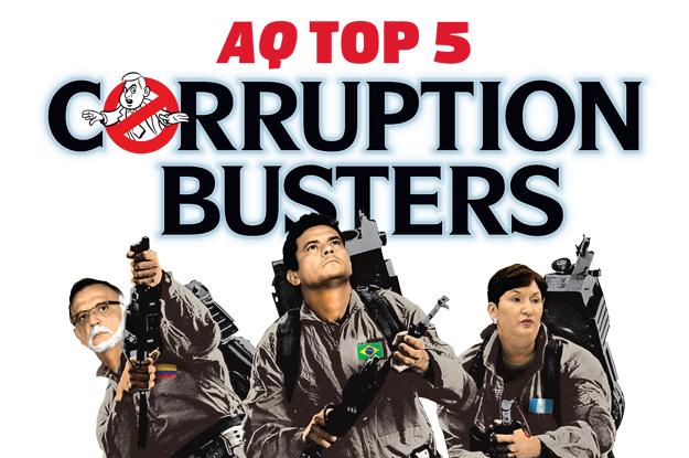 AS/COA's Americas Quarterly Magazine lionized Bolsonaro's future Justice Minister as a heroic cover model