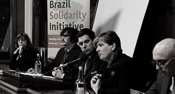 Brazil Solidarity Initiative: Editor Speaks At UK Parliament