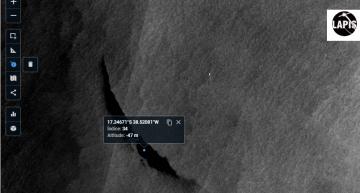 Satellite imagery reveals 330km2 Oil Slick off Bahia coast