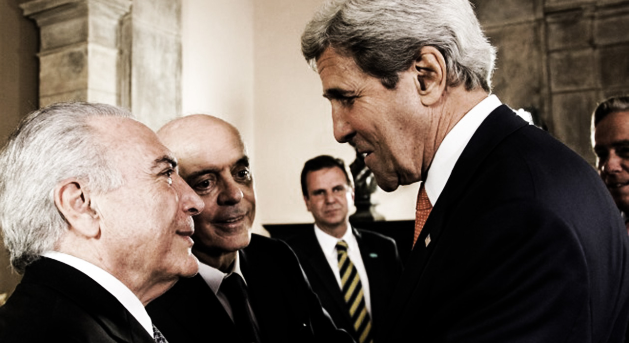 The US & Brasil's Coup of 2016