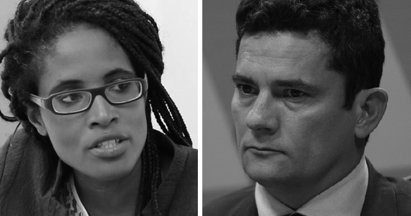 """""""A Judge should not have a Party"""" – Philosopher Djamila Ribeiro confronts Sergio Moro at debate in London"""