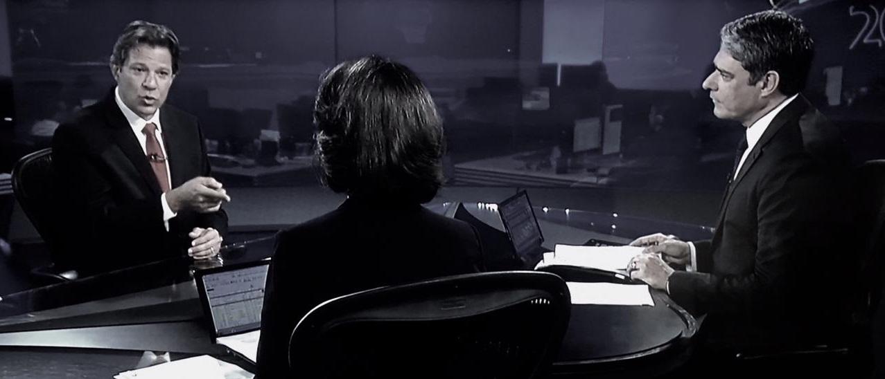 TV Globo ambush attempt against Haddad backfires