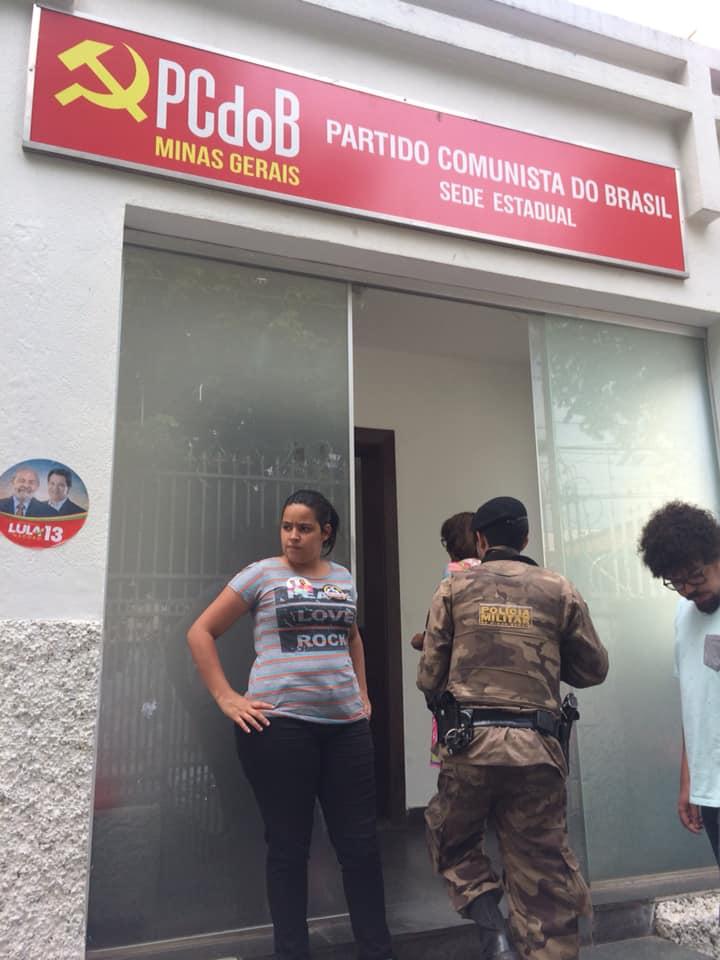 Military Police raid communist party campaign headquarters in Minas Gerais