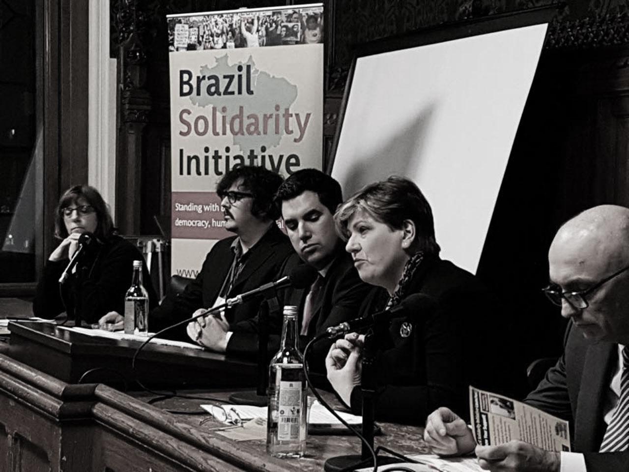Brazil Solidarity Initiative: Editor Speaks At UK Parliament