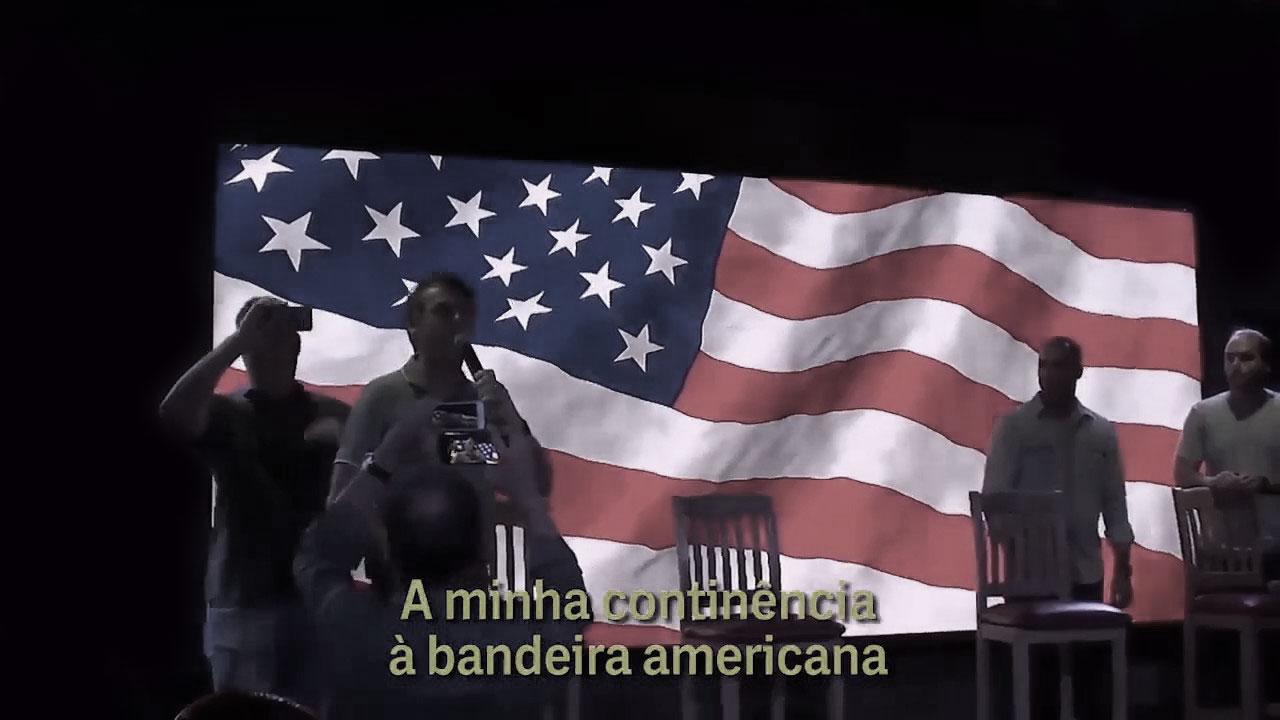 """Our Bastard"": Bolsonaro At The White House"