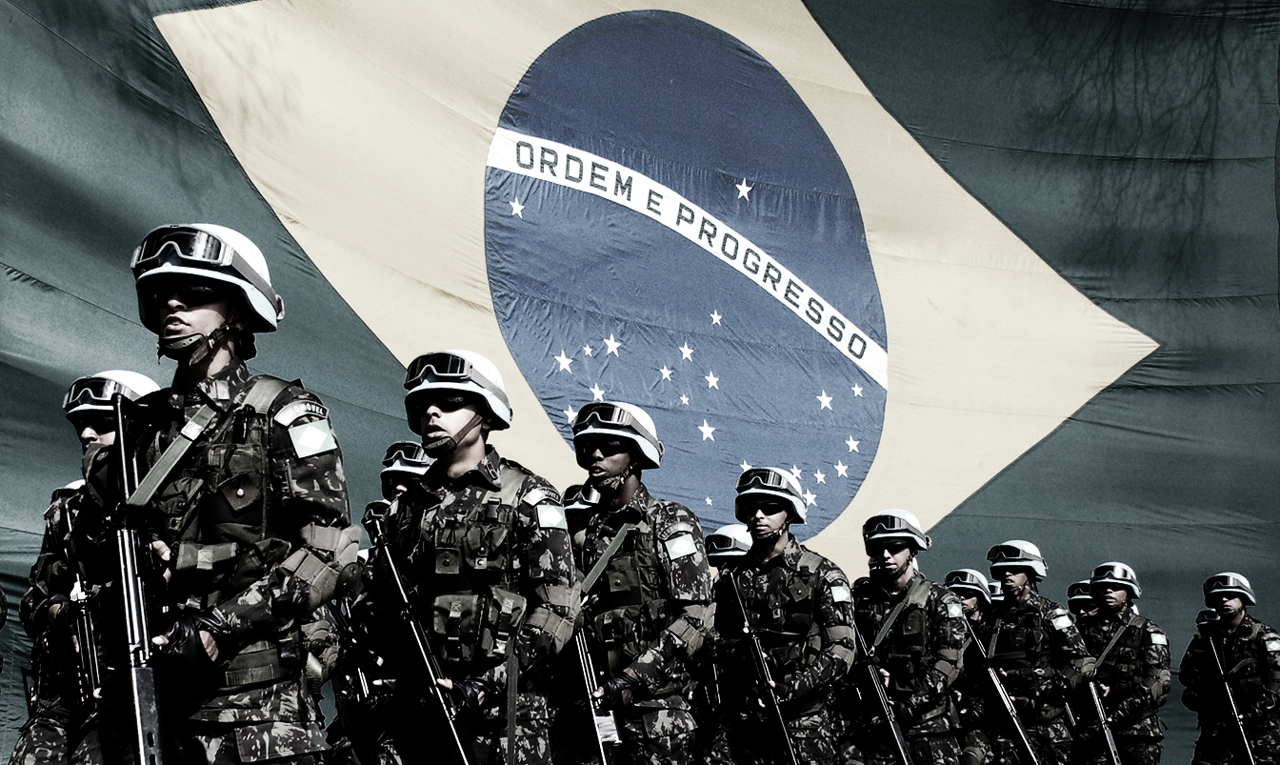 "Brazil's Armed Forces are ""to defend US interests"" says researcher"