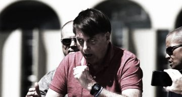 A Coughing Bolsonaro Addresses Hundreds Of Military Coup Supporters