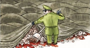 """Brazilian General steps in to """"hide the bodies"""""""