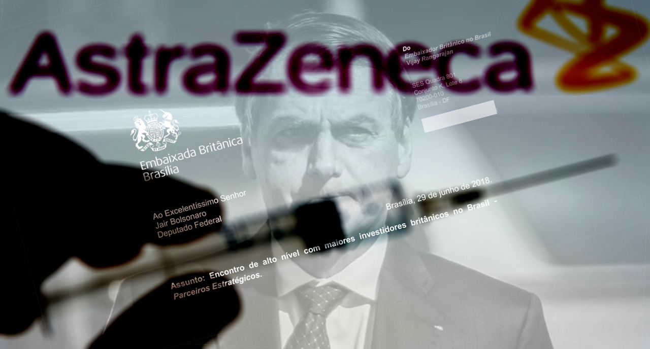 """Strategic Partners"": Britain's secret lobbying of Bolsonaro for Big Pharma, Oil and Mining"