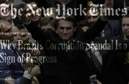 """""""A Sign Of Progress"""": How A Tiny Corporate Media Clique Inverted Reality During Brazil's 2016 Coup"""