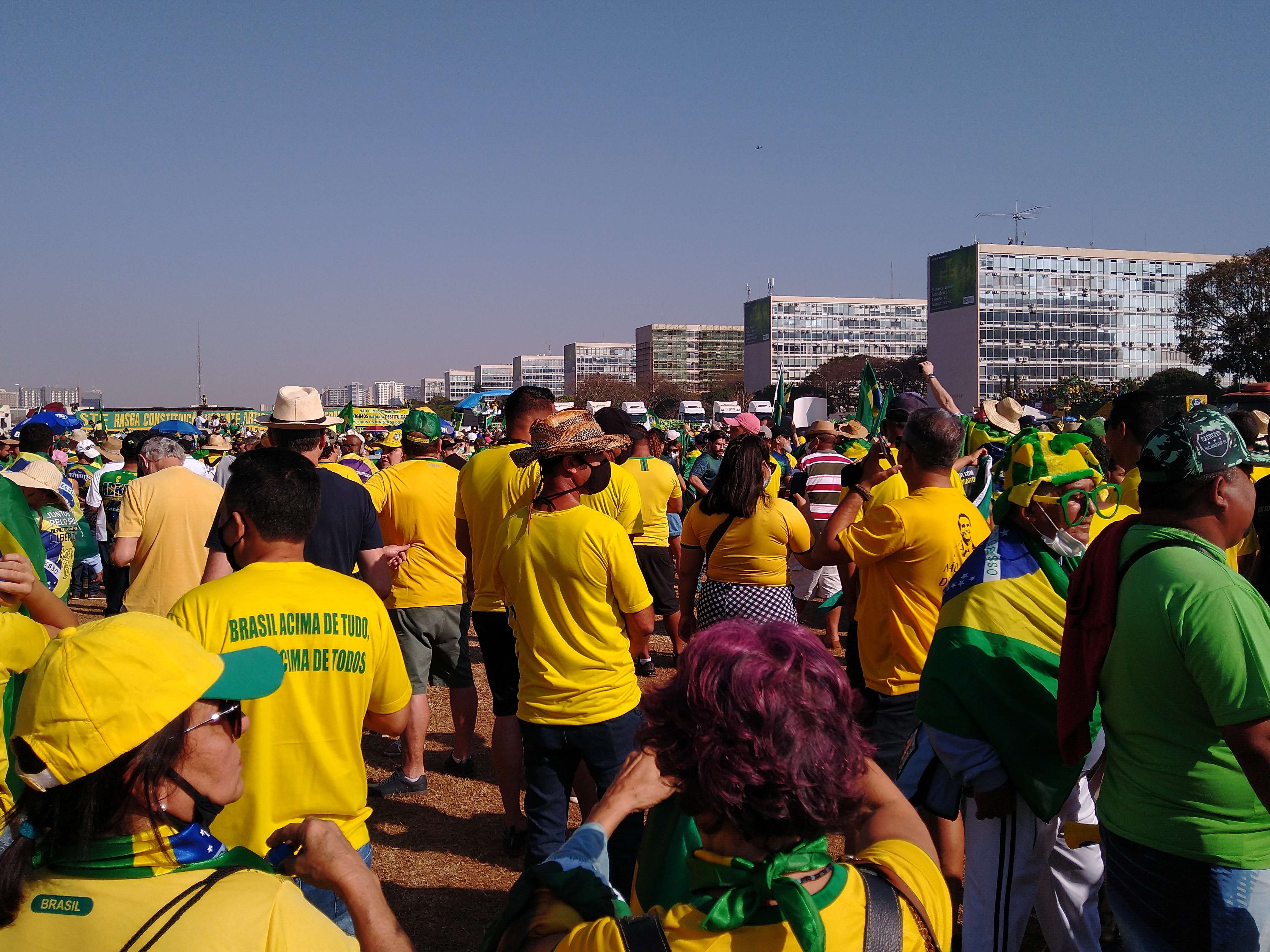 September 7th, the View from Brasília